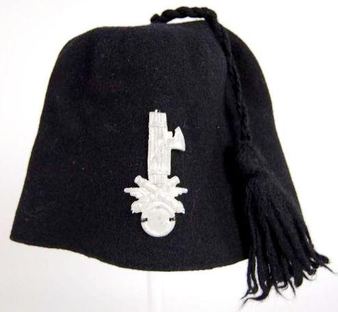 Fez Fascista de Artillería